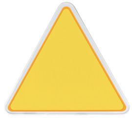 triangle métal sans marquage
