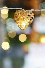 Heart and bokeh
