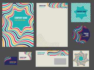 Corporate identity - stationery for company