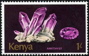 minerals Found in Kenya. Amethyst