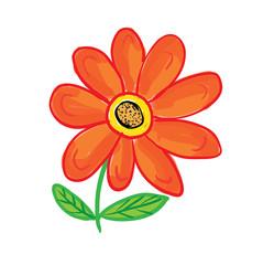 flower, vector illustration