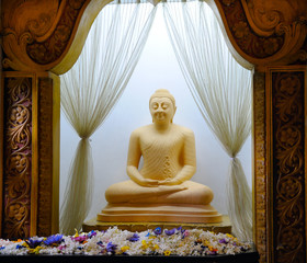 Buddha statue at the temple