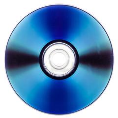 DVD over white