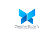 Butterfly Logo vector design corporate business template