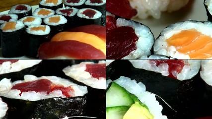 Sushi, Sashimi, Japanese Foods, Cuisine, Gourmet