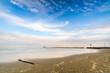 canvas print picture - Spiaggia di fine estate