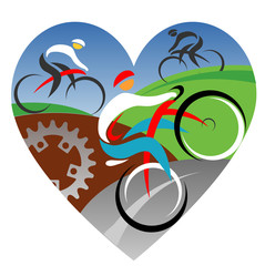We love cycling