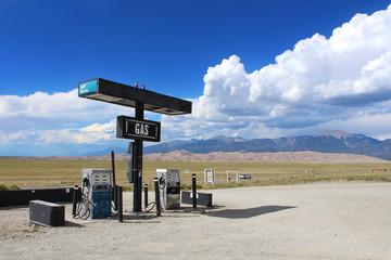 Great Sand Dunes (Colorado) - Pompe à essence