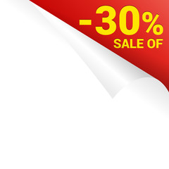 paper page curl corner price sale of