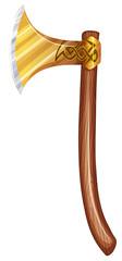A sharpened ax