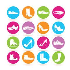 shoe icons