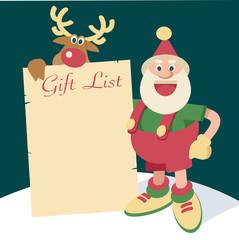 Santa gift list