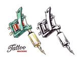Tattoo Machine Vector