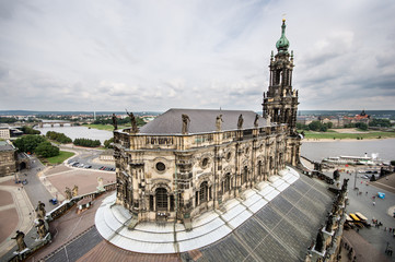 Katholische Hofkirche, Dresden. Germany