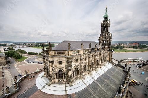 Foto op Plexiglas Kiev Katholische Hofkirche, Dresden. Germany