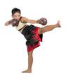 Female Muay Thai fighter