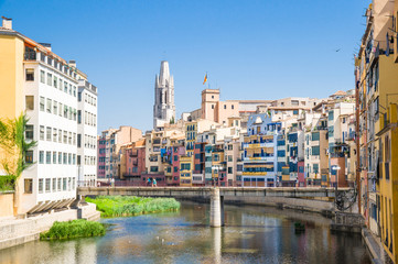 View of the city of Girona