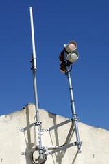 antenne sur le port