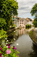Kanal in La petite France Strasbourg