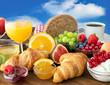 Obrazy na płótnie, fototapety, zdjęcia, fotoobrazy drukowane : Frühstück - Breakfast