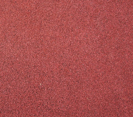 Red running track texture