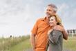 Leinwanddruck Bild - Mature Couple Daydreaming