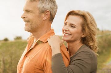 Senior couple carefree