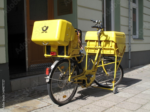 Mail Delivery Bicycle