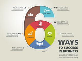 info graphic design, vector, template, success, business