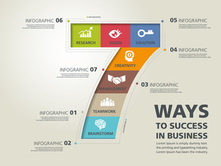 info graphic design, vector, template, success