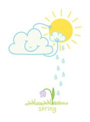 cloud sun washes