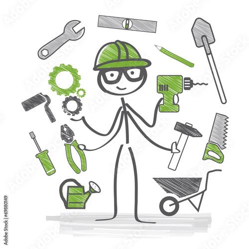 Handwerker, Kundendienst - 69880149