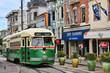 Green tram - 69880345