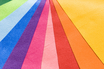 ten colourful cloth
