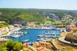 Постер, плакат: Bonifacio port in Corsica France