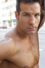 portrait fitness men