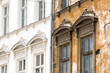 Leinwanddruck Bild - Fassade
