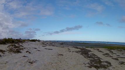 Pan Time-lapse - Shot in Ria Formosa wetlands. Algarve