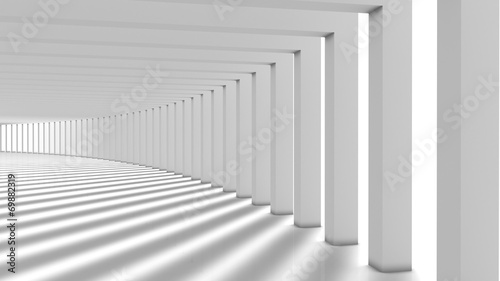 Abstract Modern Background, Columns Hall - 69882319