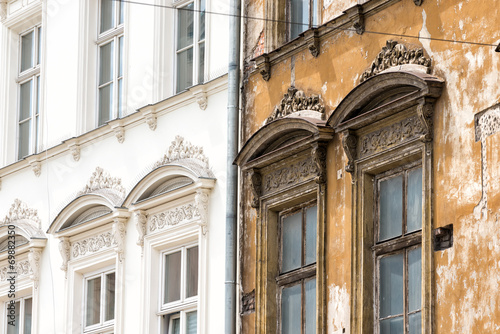 Leinwanddruck Bild Fassade