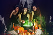 witches brew the potion