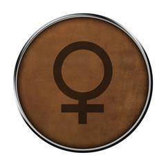 Icone cuir femelle