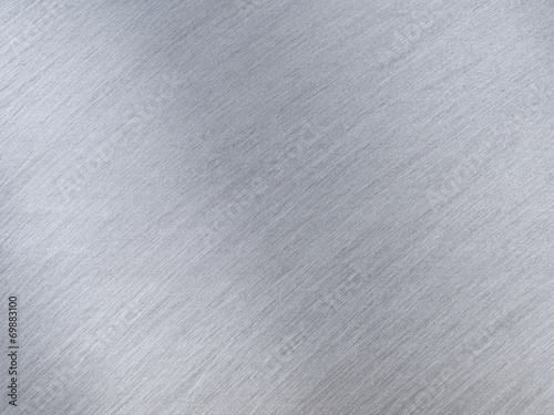 Foto op Aluminium Metal Light Grey Metal Textures with Reflection Stripes as Background