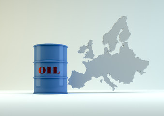 Oil for Europe - blue