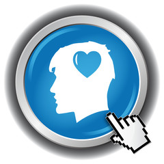HEART HEAD ICON