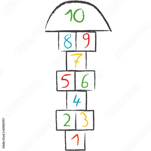 Doodle hopscotch - 69883957