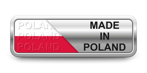 Made in Poland Button