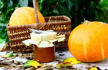 confiture de potiron d'automne