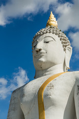 Buddha in Blue sky