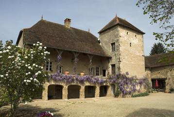 Chateau, Signy le Chatel, 71, saone et loire